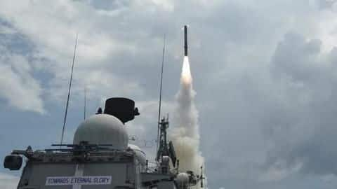 Supersonic cruise missile BrahMos successfully test fired from Chandipur ITR