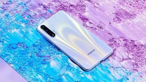 Honor 20s and Play 3, with triple rear cameras, launched