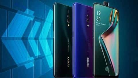 OPPO K3, with pop-up selfie camera, launched in India