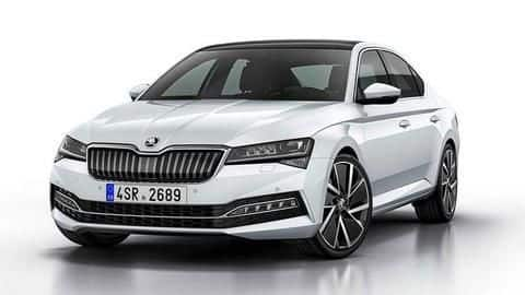 2020 Skoda Superb spotted testing in India, launch imminent
