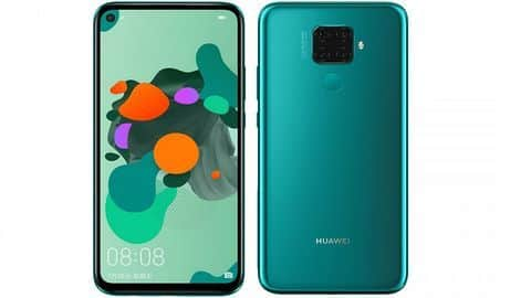 Huawei Nova 5i Pro, with four rear cameras, goes official