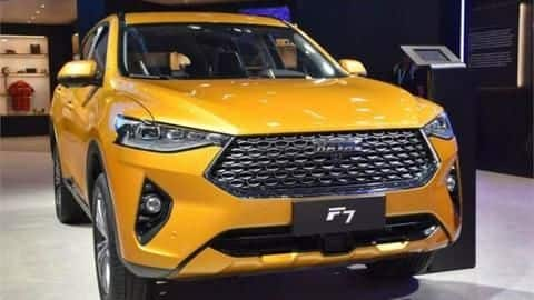 Auto Expo 2020: Haval F7 SUV unveiled in India
