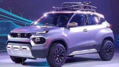 Auto Expo 2020: Tata Motors unveils HBX compact SUV