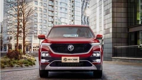 India's first internet car, MG Hector SUV unveiled: Details here