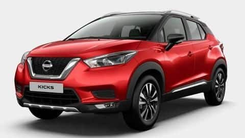 Nissan is offering Rs. 1.15 lakh off on Kicks SUV