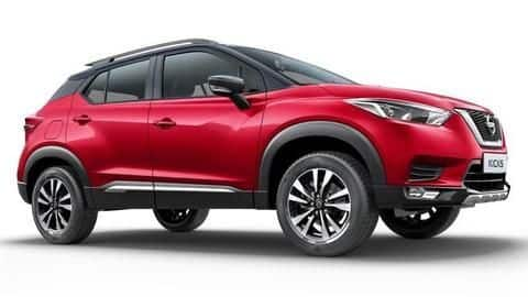 Nissan Kicks XE launched in India for Rs. 9.89 lakh