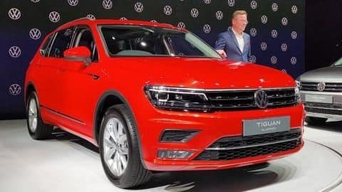 Volkswagen Tiguan AllSpace launched at Rs. 33.13 lakh