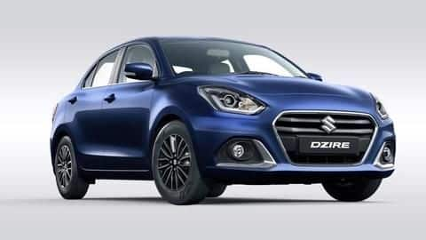 2020 Maruti-Suzuki Dzire launched in India at Rs. 5.89 lakh
