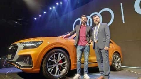 Audi Q8 launched in India at Rs. 1.33 crore