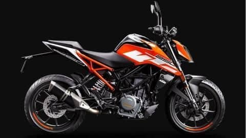 KTM 250 Duke now available with exchange offer: Details here