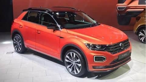 Auto Expo 2020: Volkswagen T-Roc SUV unveiled in India