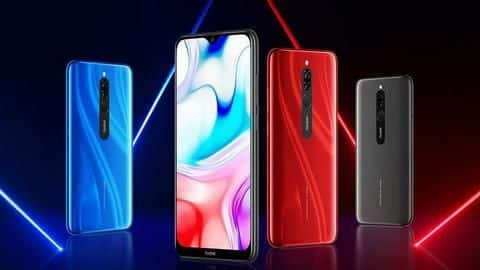 Redmi 8 launched in India, price starts at Rs. 7,999