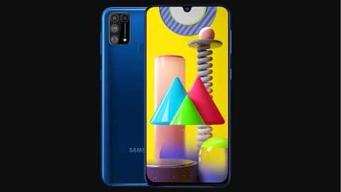 Samsung launches Galaxy M31 smartphone at Rs. 16,000