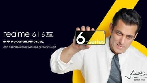 Realme 6 series smartphones to be launched on March 5