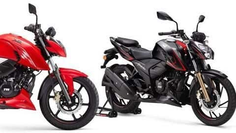TVS launches BS6-compliant RTR 160 4V, RTR 200 4V motorcycles