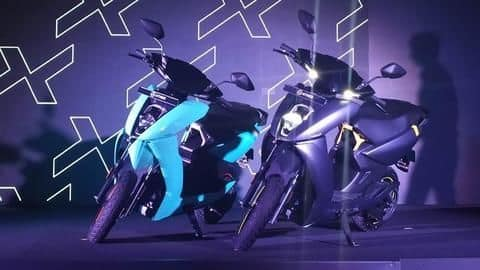 Ather 450X e-scooter launched in India at Rs. 99,000