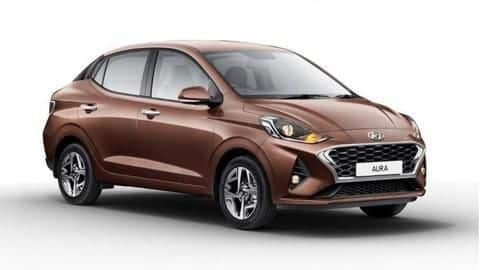 Hyundai AURA launched in India at Rs. 5.80 lakh
