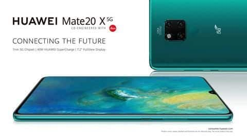 Huawei launches its first-ever 5G smartphone: Details here