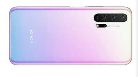 Honor 20 Pro gets Icelandic Illusion color option: Details here