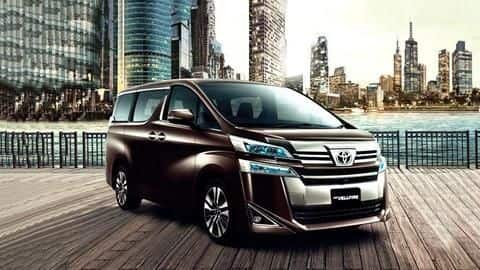 Toyota Vellfire MPV to be launched on February 26