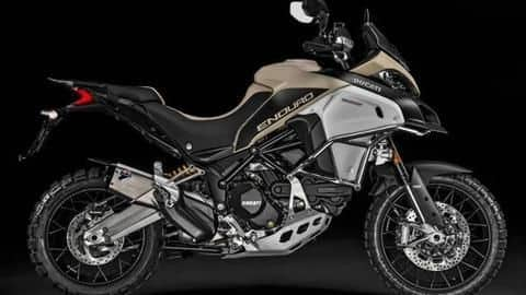 This premium Ducati off-roader is available with a heavy discount