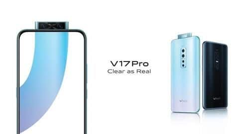 Pre-orders for Vivo V17 Pro live in India: Details here