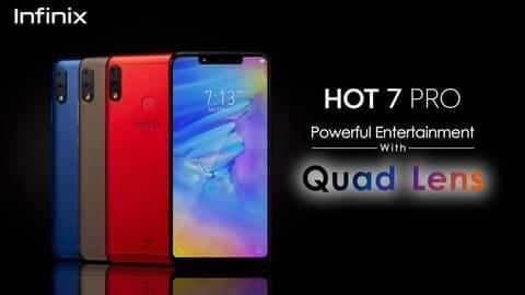 Infinix Hot 7 Pro, with dual front-cameras, to launch soon