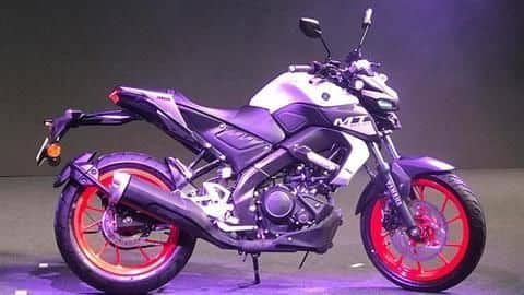 2020 Yamaha MT-15 motorcycle, with BS6-compliant engine, breaks cover