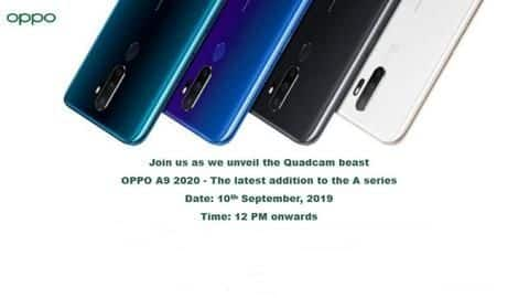 OPPO A9 2020, featuring 48MP camera, to launch on September-10