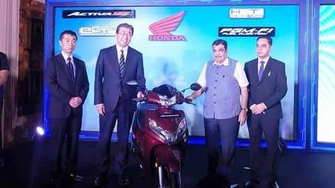 Honda launches its first BS6-compliant two-wheeler in India