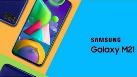 Samsung Galaxy M21 to go on its first sale today