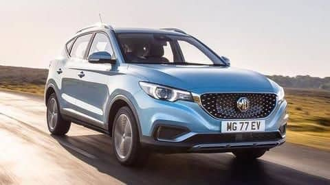 MG's fully-electric SUV launched in India at Rs. 20.88 lakh