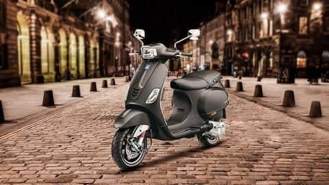 BS6-compliant Vespa SXL 150 scooter to cost Rs. 1.25 lakh