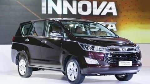 2019 Toyota Innova Crysta launched at Rs. 14.93 lakh