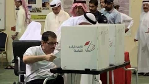 Bahrain votes for new parliament but Shiite-dominated opposition absent
