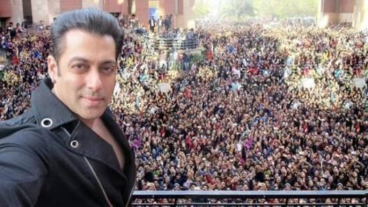 Audience's love more important to me: Salman Khan