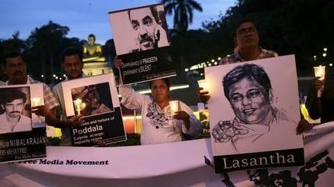 Lanka media rights activists call new anti-terror law 'draconian laws'