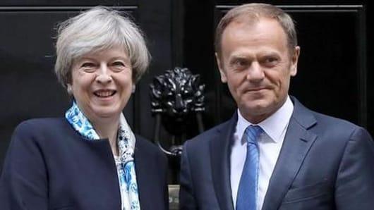 EU, UK agree to delay Brexit until Halloween