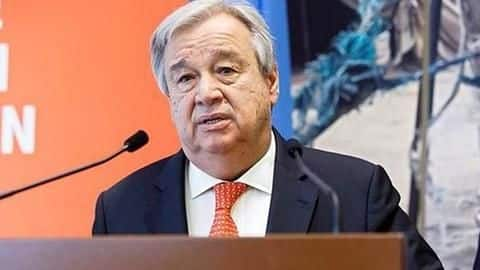 Rapid urbanization increases risks from natural, human-made disasters: Antonio Guterres