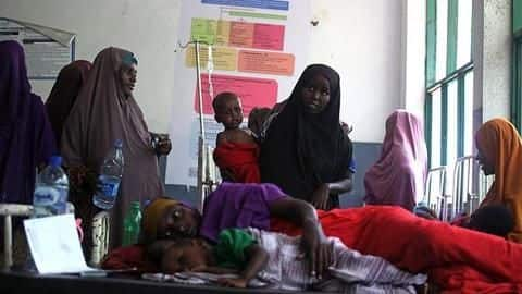 175 dead, over 10,000 affected by cholera outbreak in Nigeria