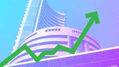 Sensex jumps over 100 points ahead of Budget 2019