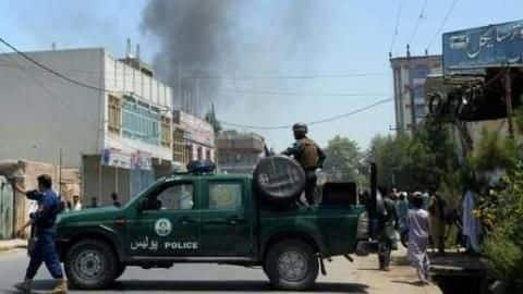 Suicide bomb attack outside EC office kills two in Afghanistan
