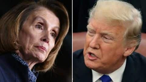 US: House speaker Pelosi says Trump 'just not worth' impeaching