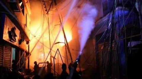 Dhaka: Massive fire rips through chemical warehouses, kills 69