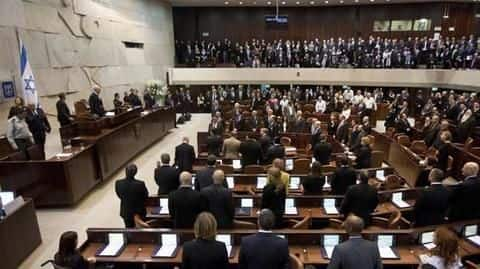 Israeli Knesset votes to dissolve current parliament, schedules new elections