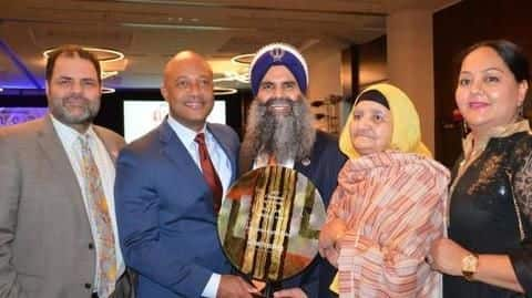 Indian-American Sikh accorded with Rosa Park Trailblazer award