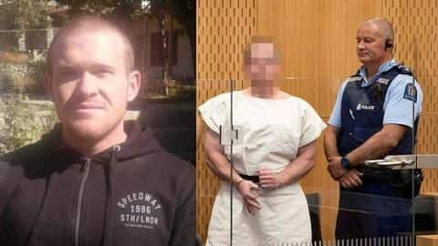 NZ mosque attack: Extremist's face remains expressionless while being charged