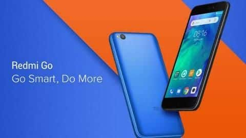 Xiaomi Redmi Go launched in India at Rs. 4,499