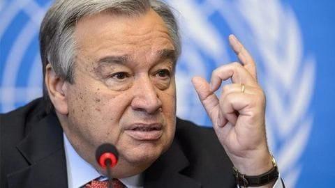 UN chief Guterres calls for immediate halt to Libya fighting