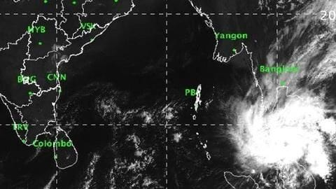 Cyclone 'Pabuk' moves towards the Andamans; yellow alert sounded